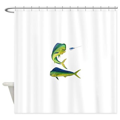 Mahi x 2 Shower Curtain