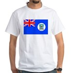 Falkan Islands White T-Shirt