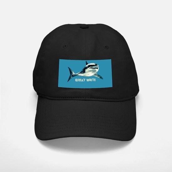 Great White Baseball Hat