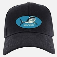 greatwhitebluoval.png Baseball Hat