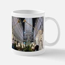 Rockefeller Center at Christmas Mug