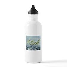 Utah Mountain Souvenir Water Bottle