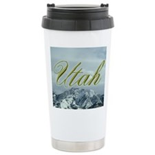 Utah Mountain Souvenir Thermos Mug