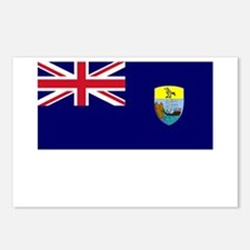 Saint Helena Flag Picture Postcards (Package of 8)