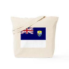 Saint Helena Flag Picture Tote Bag