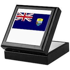 Saint Helena Flag Picture Keepsake Box