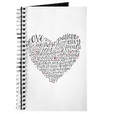 Love is patient Corinthians 13:4-7 Journal