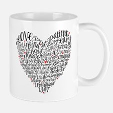 Love is patient Corinthians 13:4-7 Small Small Mug