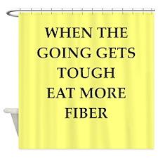 fiber Shower Curtain