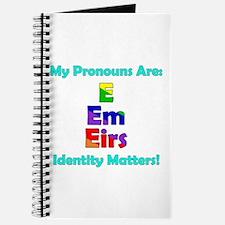 E Em Eirs Pronouns Journal