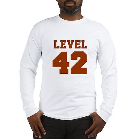 Classic Level 42 Baseball Jersey logo Long Sleeve
