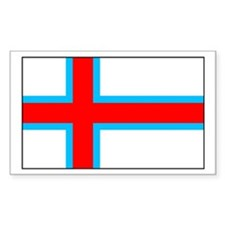 Faroes Rectangle Decal