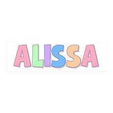 Alissa Rainbow Pastel 36x11 Wall Peel