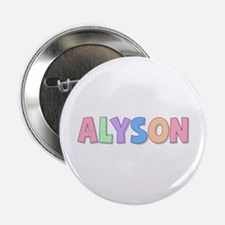 Alyson Rainbow Pastel Button