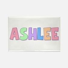 Ashlee Rainbow Pastel Rectangle Magnet