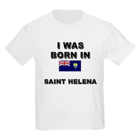 I Was Born In Saint Helena Kids T-Shirt