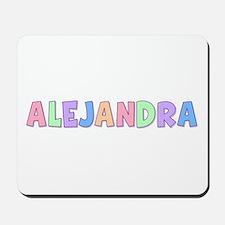 Alejandra Rainbow Pastel Mousepad