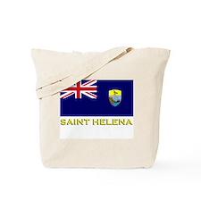 Saint Helena Flag Stuff Tote Bag