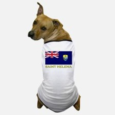 Saint Helena Flag Stuff Dog T-Shirt