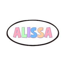 Alissa Rainbow Pastel Patch