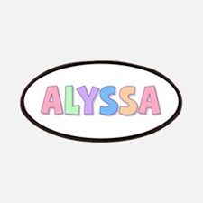 Alyssa Rainbow Pastel Patch