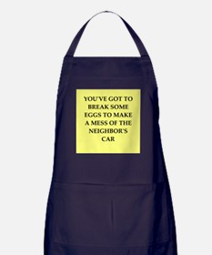 break eggs Apron (dark)