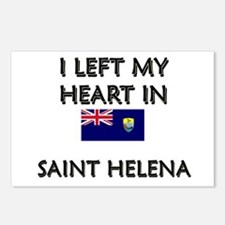 I Left My Heart In Saint Helena Postcards (Package