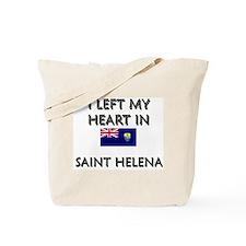 I Left My Heart In Saint Helena Tote Bag