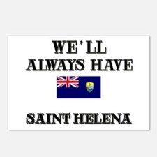 We Will Always Have Saint Helena Postcards (Packag