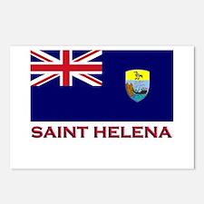 Saint Helena Flag Gear Postcards (Package of 8)