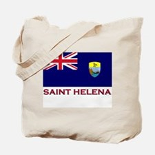Saint Helena Flag Gear Tote Bag