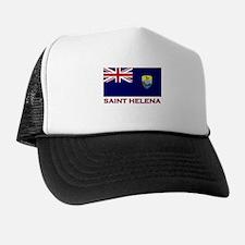 Saint Helena Flag Gear Trucker Hat