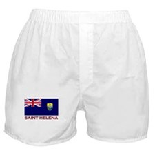 Saint Helena Flag Gear Boxer Shorts