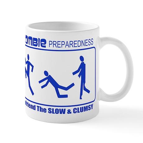 Zombie Preparedness Befriend Slow Clumsy Mug