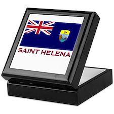Saint Helena Flag Gear Keepsake Box