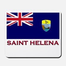 Saint Helena Flag Gear Mousepad