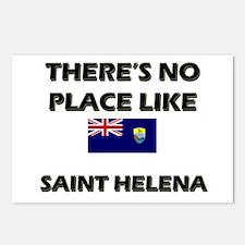 There Is No Place Like Saint Helena Postcards (Pac