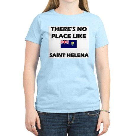 There Is No Place Like Saint Helena Women's Pink T