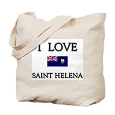 I Love Saint Helena Tote Bag