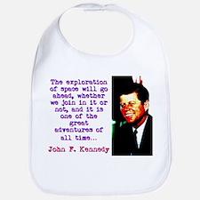 The Exploration Of Space - John Kennedy Baby Bib