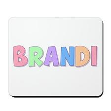 Brandi Rainbow Pastel Mousepad