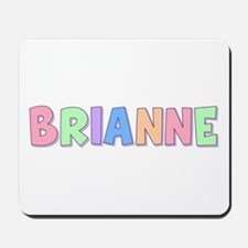 Brianne Rainbow Pastel Mousepad