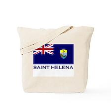 Saint Helena Flag Merchandise Tote Bag
