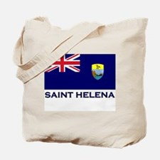 Saint Helena Flag Merchandise Tote Bag