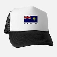 Saint Helena Flag Merchandise Trucker Hat