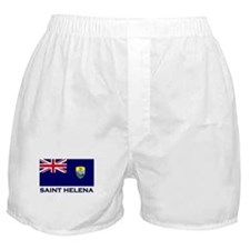 Saint Helena Flag Merchandise Boxer Shorts