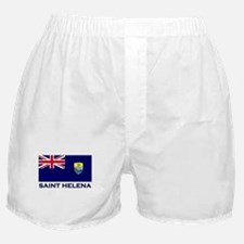 Saint Helena Flag Merchandise Boxer Shorts