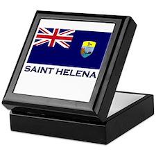 Saint Helena Flag Merchandise Keepsake Box