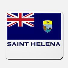 Saint Helena Flag Merchandise Mousepad