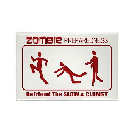 Zombie Preparedness Befriend Slow Clumsy Rectangle